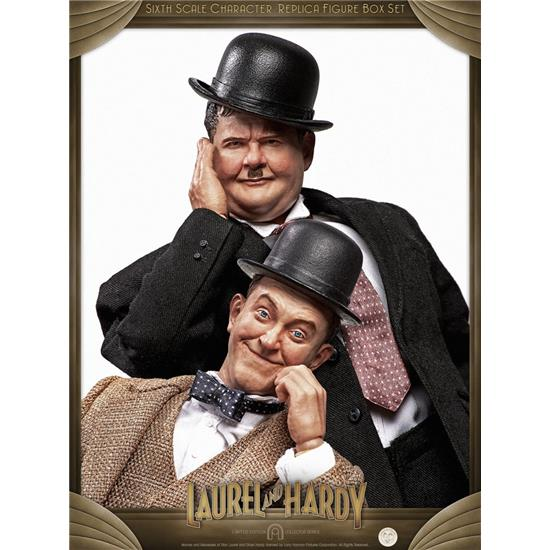 Gøg og Gokke: Laurel & Hardy Classic Suits Limited Edition Action Figure 2-Pack 1/6 30-33 cm