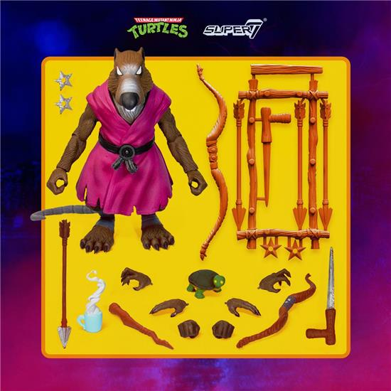 Ninja Turtles: Splinter Ultimates Action Figure 18 cm