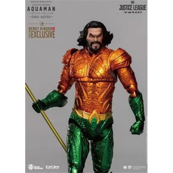 Justice League: Aquaman SDCC 2019 Exclusive Dynamic 8ction Heroes Action Figure 1/9 20 cm