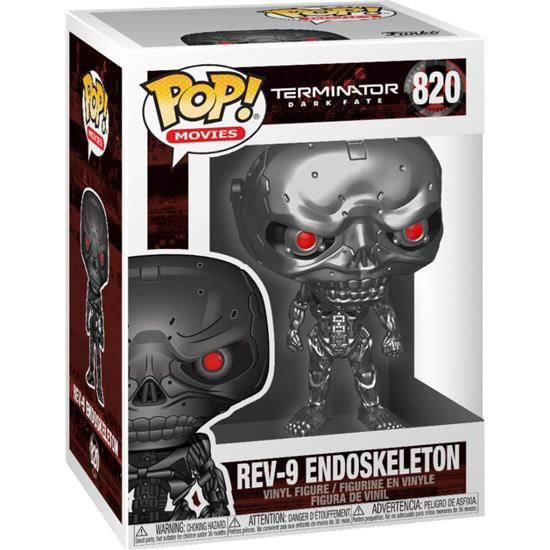 Terminator: REV-9 Endoskeleton POP! Movies Vinyl Figur (#820)