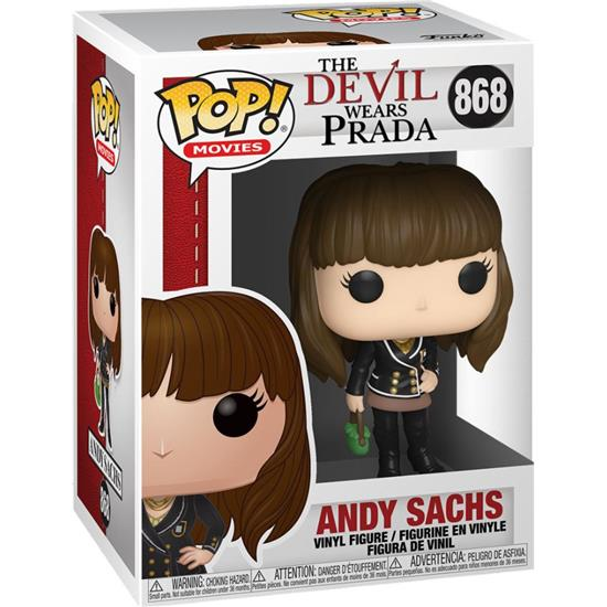 Devil Wears Prada: Andy Sachs POP! Movies Vinyl Figur (#868)