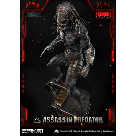 Predator: Assassin Predator Deluxe Version Statue 1/4 93 cm