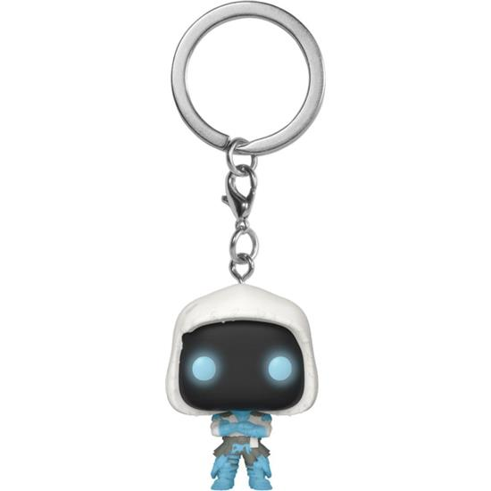 Fortnite: Frozen Raven Pocket POP! Vinyl Nøglering