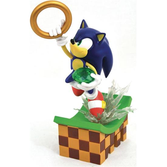 Sonic The Hedgehog: Sonic PVC Diorama 23 cm