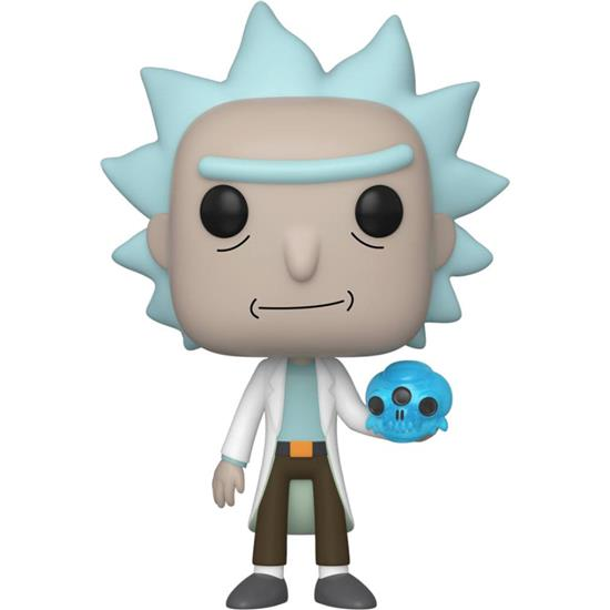 Rick and Morty: Rick with Crystals POP! Animation Vinyl Figur