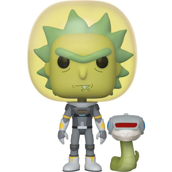 Rick and Morty: Space Suit Rick POP! Animation Vinyl Figur