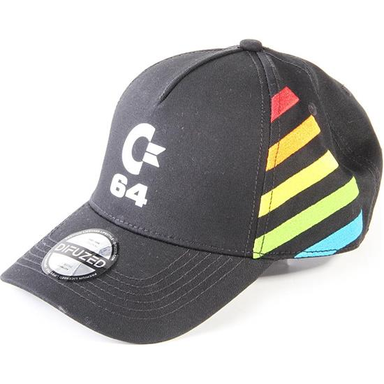 Retro Gaming: C64 Logo Curved Bill Cap