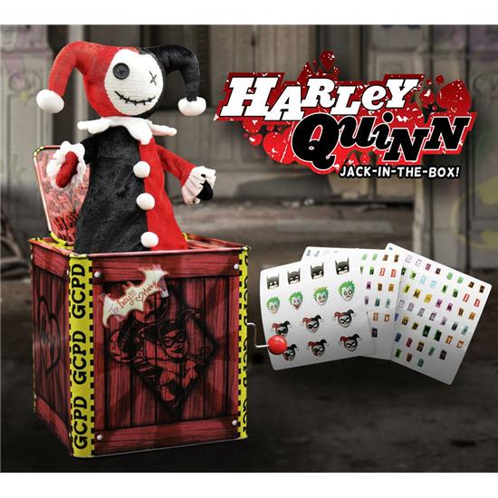 DC Comics: Harley Quinn Jack in the Box 29 cm