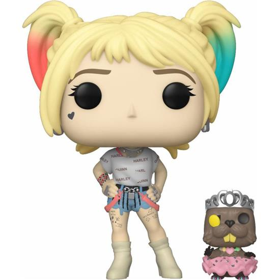 Birds of Prey: Harley Quinn & Beaver POP! Vinyl Figur