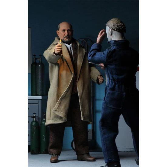 Halloween: Doctor Loomis & Laurie Strode Action Figure 2-Pack 20 cm