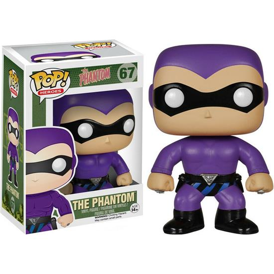 Phantom: The Phantom POP! Heroes Vinyl Figur (#67)