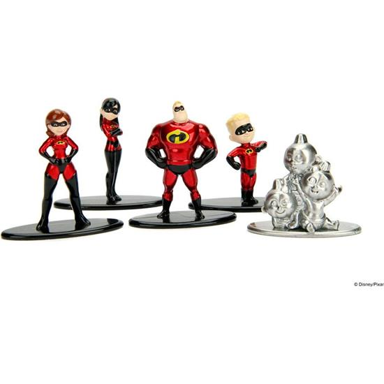 Incredibles: Incredibles 2 Nano Metalfigs 5-Pak
