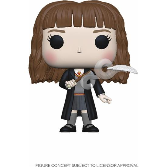 Harry Potter: Hermione w/Feather POP! Movies Vinyl Figur