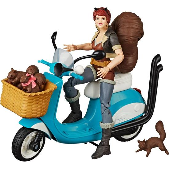 Marvel: Squirrel Girl with Vehicle Action Figure 15 cm