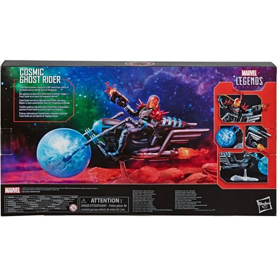 Marvel: Cosmic Rider with Vehicle Action Figure 15 cm