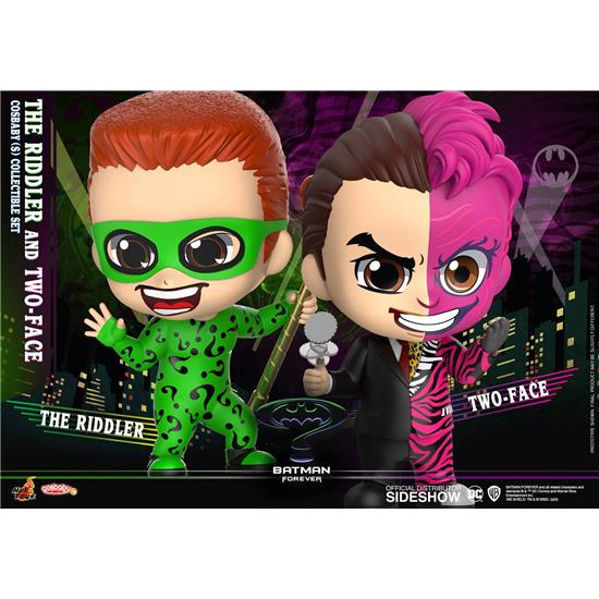 Batman: Riddler & Two-Face Cosbaby Mini Figure 2-Pack 11 cm