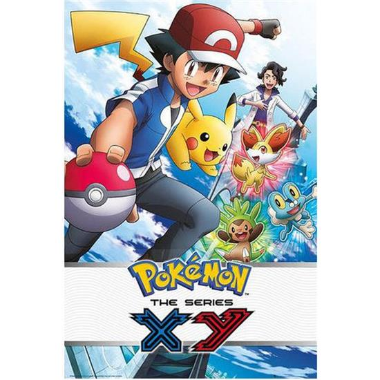 Pokémon: Pokemon X & Y Plakat