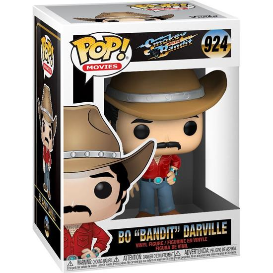 Smokey and the Bandit: Bo Bandit Darville POP! Movies Vinyl Figur (#924)