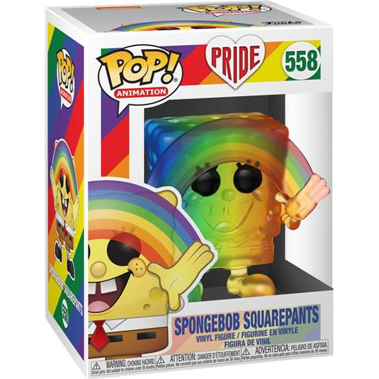 SpongeBob: SpongeBob SquarePants Pride 2020 POP! Animation Vinyl Figur (#558)