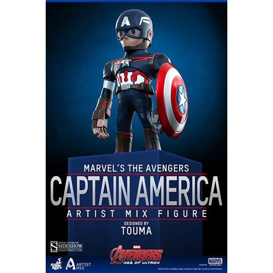 Captain America: Captain America Artist Mix Bobble-Head