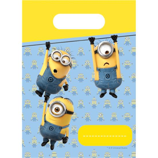 Diverse: Minions partybags 6 styk