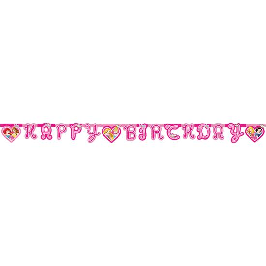 Disney: Disney Prinsesser Happy birthday banner 175 cm