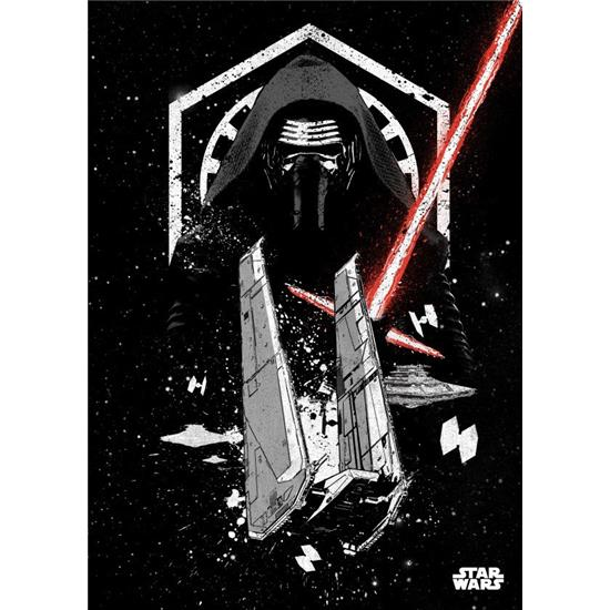 Star wars kylo ren metal v g deko for Star wars deko