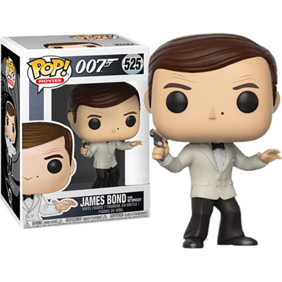 James Bond 007: James Bond (Roger Moore) POP! vinyl figur (#525)
