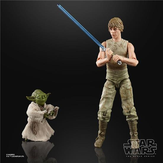 Star Wars: Luke Skywalker and Yoda (Jedi Training) Black Series Action Figure 2-Pack