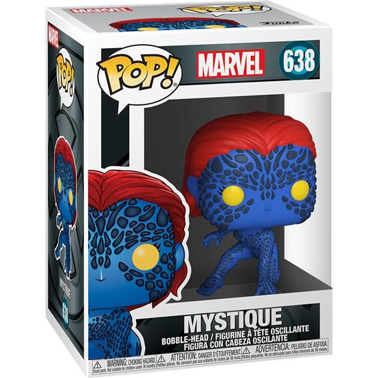 X-Men: Mystique X-Men 20th Anniversary POP! Marvel Vinyl Figur (#638)