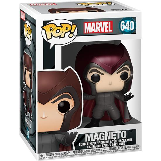 X-Men: Magneto X-Men 20th Anniversary POP! Marvel Vinyl Figur (#640)