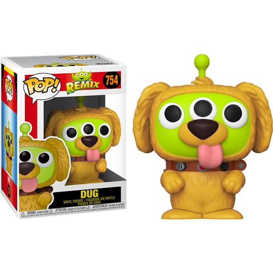 Up: Alien Remix Dug POP! Disney Vinyl Figur (#754)