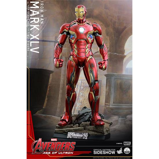 Avengers: Iron Man Mark XLIII Action Figur 1/4