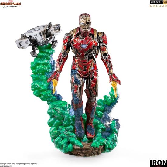 Spider-Man: Iron Man Illusion BDS Art Scale Deluxe Statue 1/10 21 cm