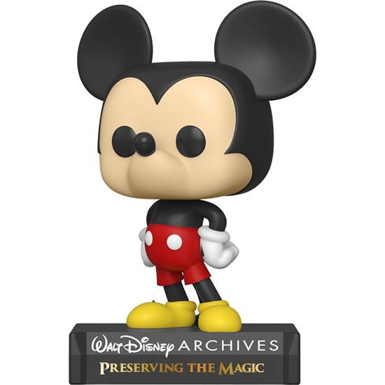 Disney: Mickey Mouse POP! Disney Archives Vinyl Figur (#801)