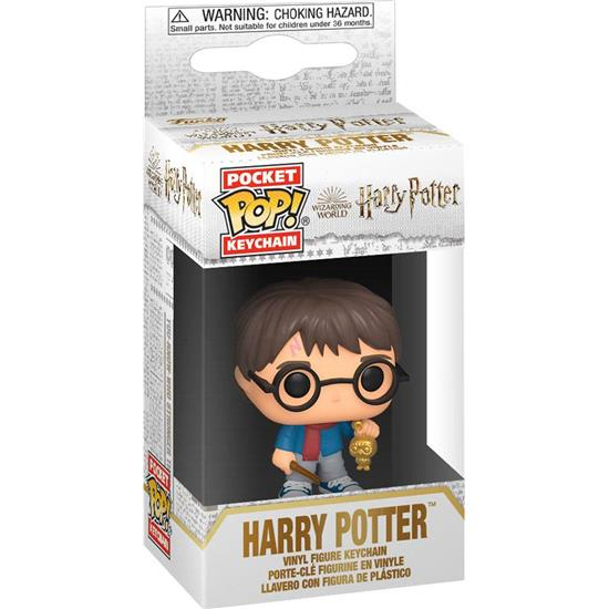 Harry Potter: Harry Potter Holiday Pocket POP! Nøglering