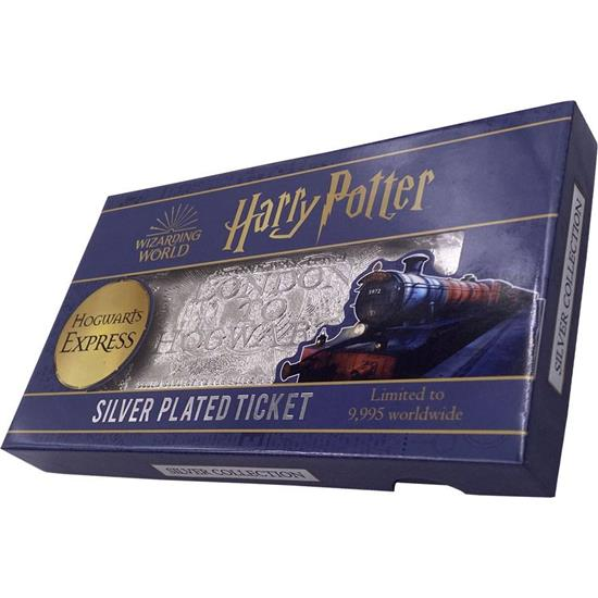 Harry Potter: Hogwarts Train Ticket Limited Edition (silver plated) Replica