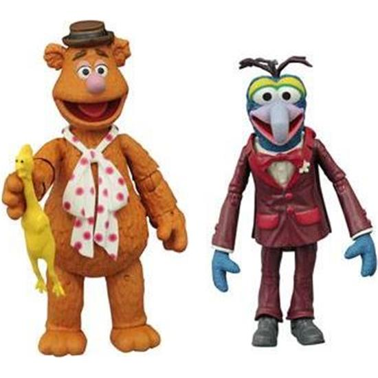 Muppet Show: Gonzo & Fozzie Action Figures 13 cm 2-Pack