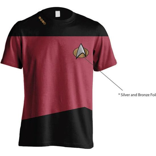 Star Trek: Red Uniform T-Shirt