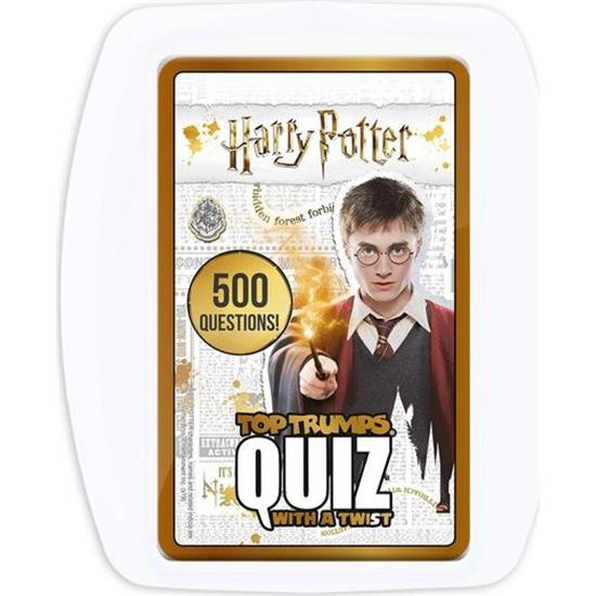 Harry Potter: Harry Potter Top Trumps Quiz (Engelsk)